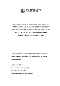 Guidelines for the Content of a Basic Science PhD Thesis 1